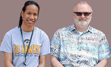 Kaylia Duncan and Siegfried Janz