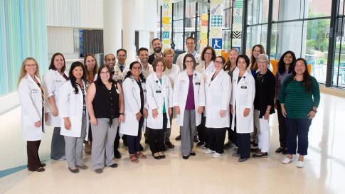 Pediatric Neurology group photo from 2019