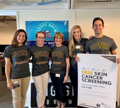 Skin Cancer Screening group photo