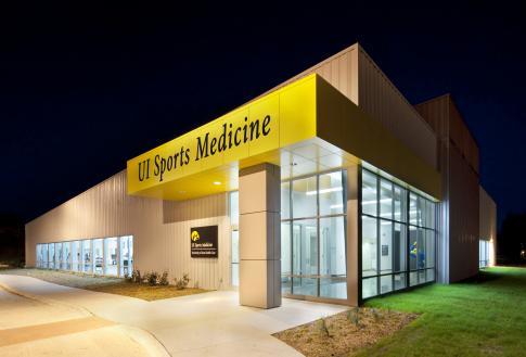 ui sports medicine building