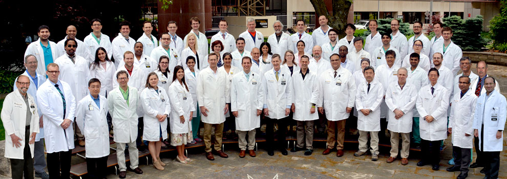 Radiology faculty, fellow, and resident physicians