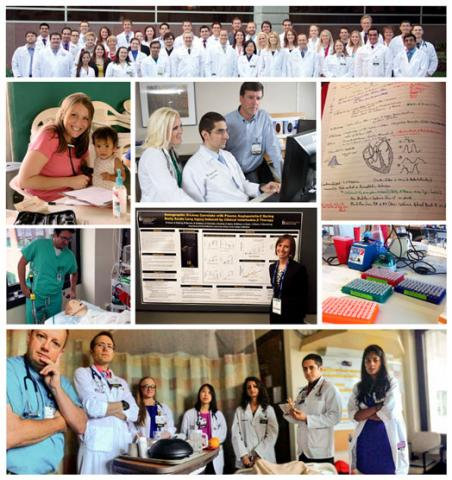 Internal Medicine welcome collage