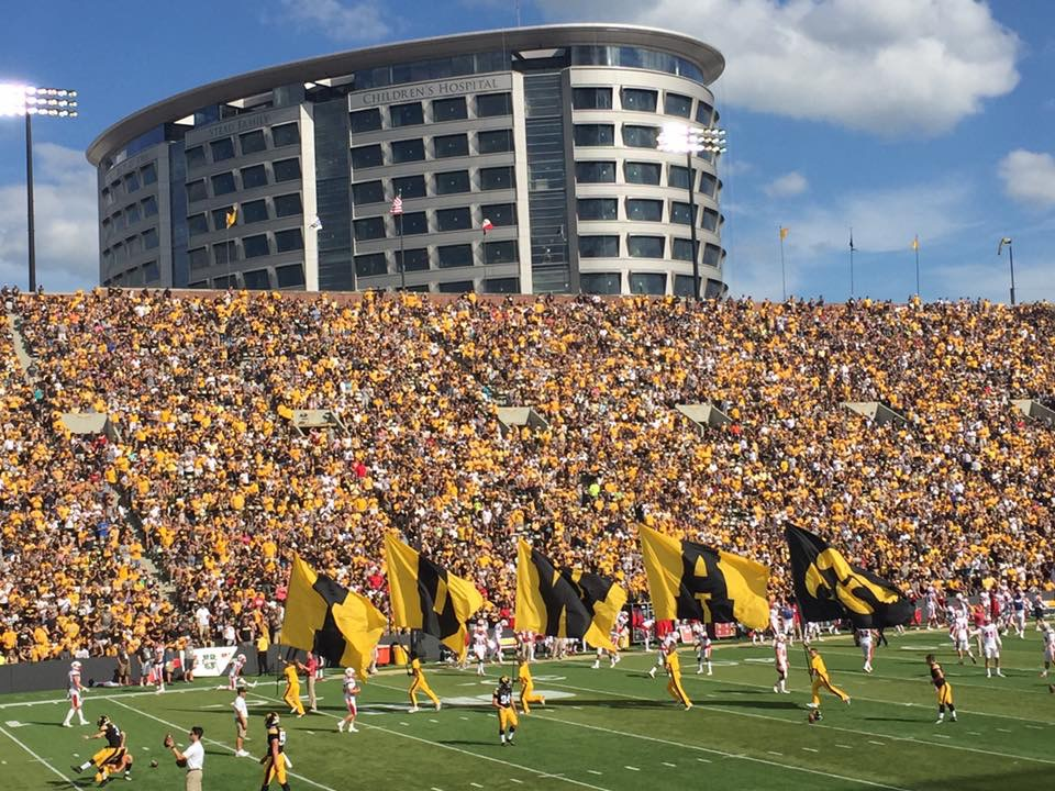 University of Iowa Football Field