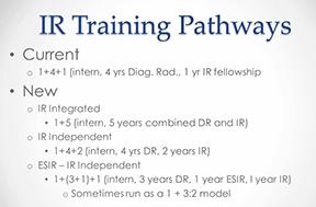 IR Pathways