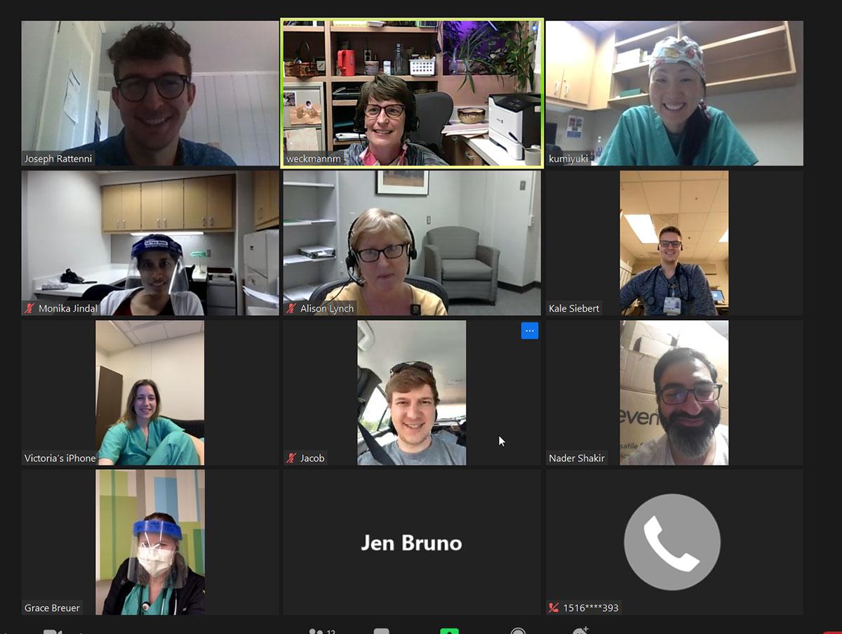 Zoom meeting 2020