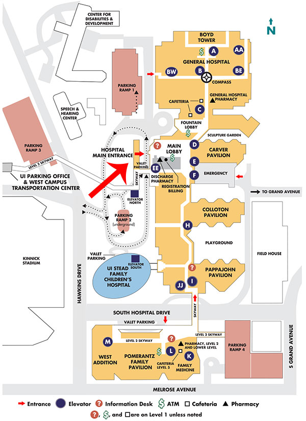 University Of Iowa Hospital Map The Interview | Graduate Medical Education University Of Iowa Hospital Map