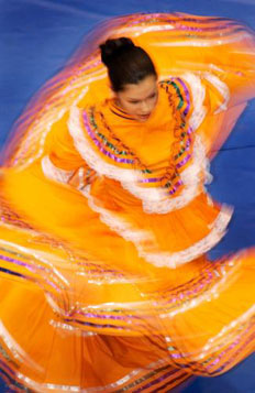 Twirling Dancer
